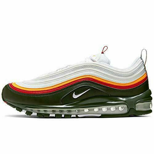 Size 13 - Nike Air Max 97 SE White Evergreen 2019 for sale online | eBay