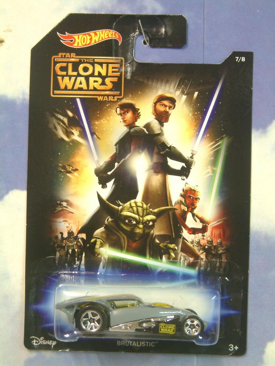 Conjunto completo completo completo de 8 Hot Wheels Coches de inspiración Star Wars Episodios 1-6 Clone Wars rebeldes 354e7a