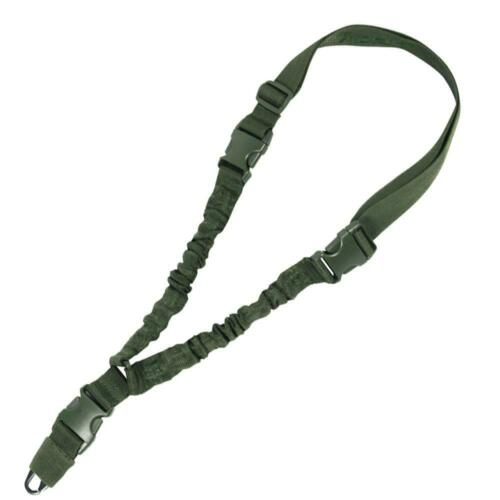 VIPER TACTIQUE 1 POINT élastique Sling Green Airsoft Tir Rifle Sling