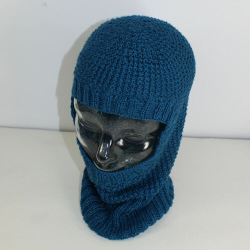 PRINTED INSTRUCTIONS-4 PLY TEXTURED UNISEX BALACLAVA CIRCULAR KNITTING PATTERN