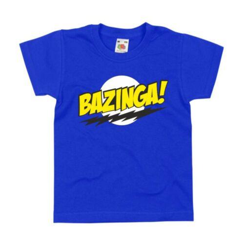 Bigbang Theory Cooper Sheldon TV Series birthday Xmas gift Kids T-Shirt Bazinga