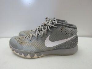 1a39aea87d5 Nike Air Kyrie 1 Wolf Grey Pewter White 705277-010 SIZE 11.5M i166K ...