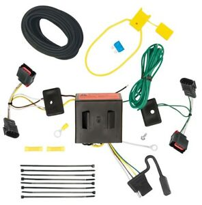 trailer wiring harness kit for 08 17 jeep patriot 08 10 chryslerimage is loading trailer wiring harness kit for 08 17 jeep