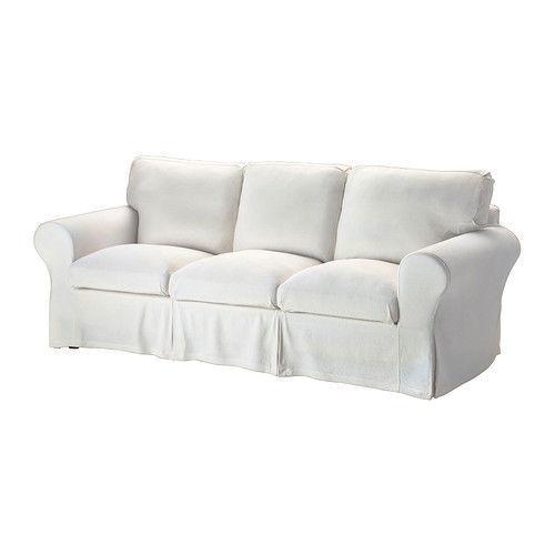 Ikea Ektorp 3 Seat Sofa Slipcover Cover Stenasa White 402 727 58 New Sealed Bnib