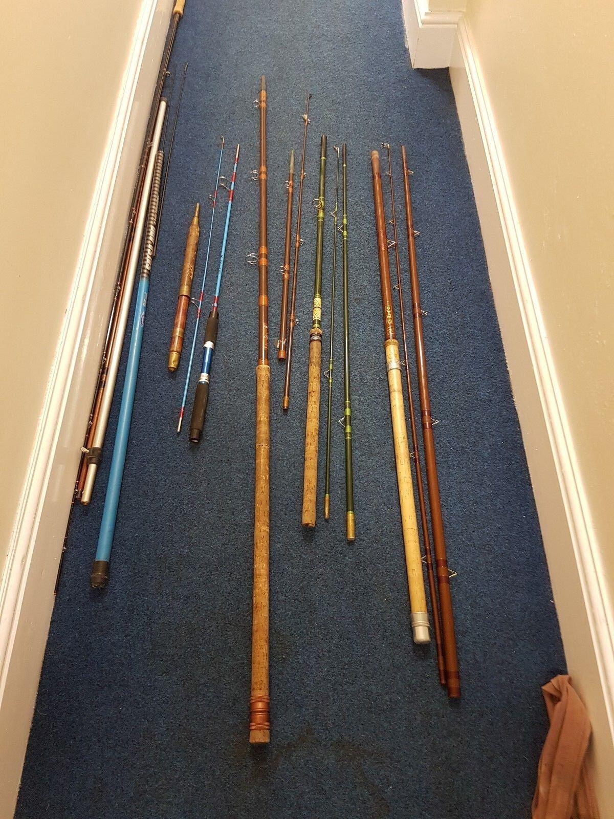 Fishing Rod bundle 6 x Rods Bundle Please Read