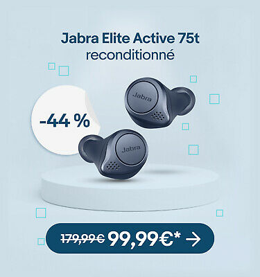Jabra Elite Active 75t reconditionné - 99,99€