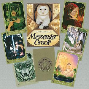 MESSENGER-ORACLE-ANCIENT-NATURE-MAGIC-Ravynne-Phelan-50-Cards-76-page-Guidebook