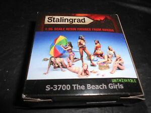 STALINGRAD-S-3700-1-35-THE-BEACH-GIRLS-RESIN-FIGURE-MODEL-KIT