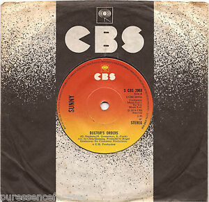 SUNNY-Doctor-039-s-Orders-UK-2-Track-1974-7-034-Single
