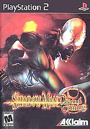 Shadow Man: 2econd Coming (Sony PlayStation 2, 2002) for sale ...