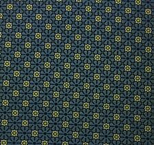 """ROBERT ALLEN POLKA FLOWERS BLUE GREEN DOTS JACQUARD UPHOLSTERY FABRIC BY YD 54""""W"""