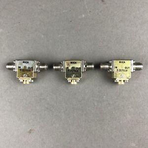 1-MICA-Micronetics-Mercury-T-217S10-Microwave-RF-Isolator-SMA-f