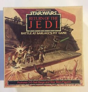 VINTAGE - STAR WARS ROTJ Battle at Sarlacc's Pit Board ...