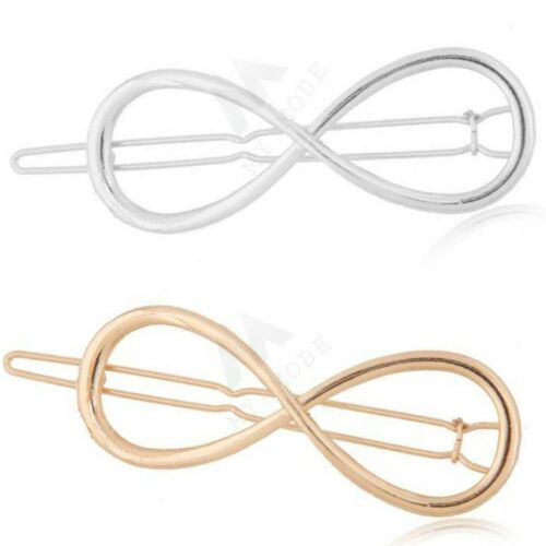 Infinity Gold Silver Hair Piece Fashion Design Clips Free UK Delivery Hot
