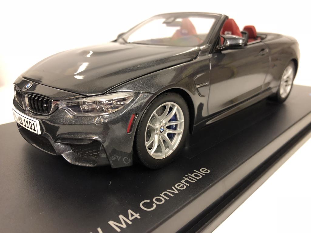 BMW M4 Converdeibile F83 Minerale Grigio 1 18 Scala Paragon 2339610