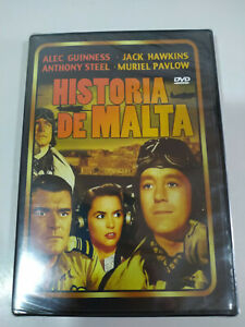 Historia-de-Malta-Alec-Guinness-Muriel-Pavlow-DVD-Espanol-Ingles-Nuevo