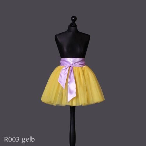 ANGEBOT Tütü tutu Ballettrock Tüllrock Petticoat Tanzrock 5 Lagen bunt Lafairy
