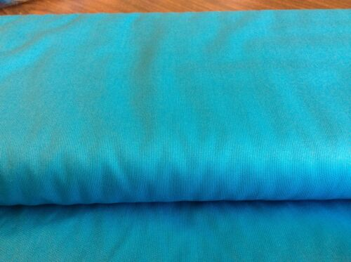 BY THE YARD TURQUOISE PIQUE BY SPECHLER-VOGEL-100/% PIMA COTTON-56 INCH WIDE