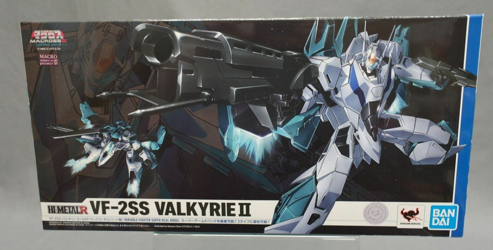 HI-METAL R VF-2SS Valkyrie II+SAP Nexx Gilbert Custom Macross II Lovers Again JP