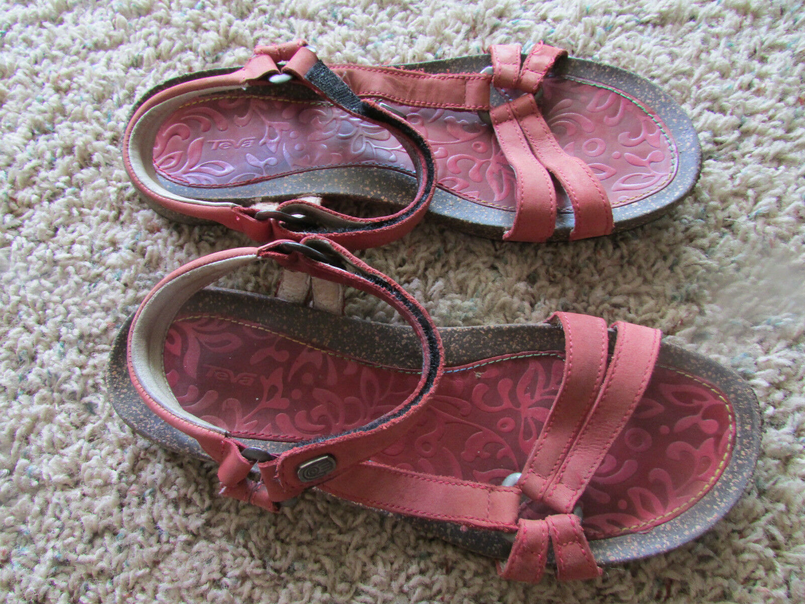 TEVA CORK STRAPPY SANDALS WOMENS 10 STYLE  6510 VENTURA  FREE SHIP