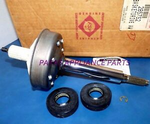 NEW-GENUINE-OEM-WHIRLPOOL-KENMORE-285752-WASHER-BASKET-DRIVE-AND-SEAL-ASSEMBLY