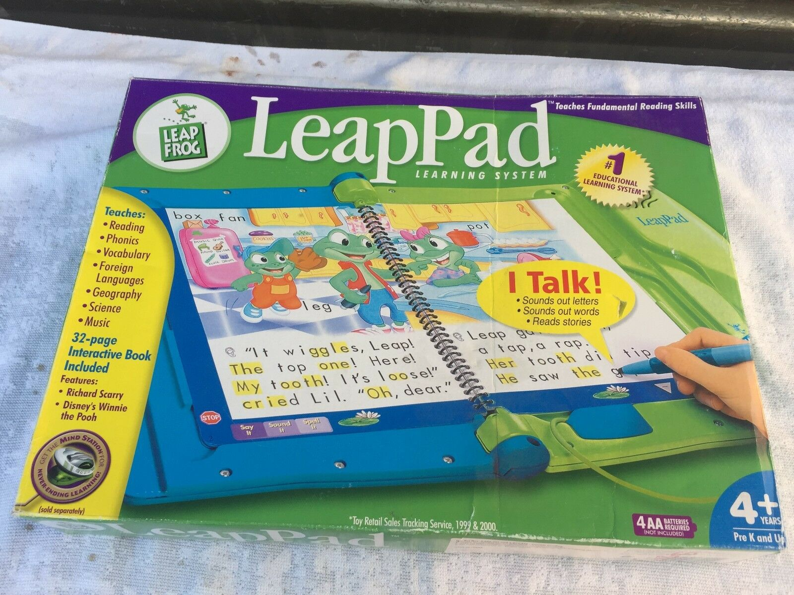 Leap Pad Learning System by Leap Frog Opened New