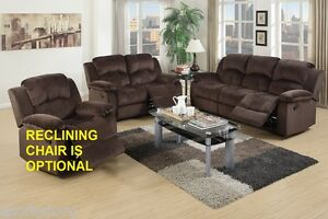 Living Room Comfort Durable Seating 2pc Motion Sofa Set Sofa Loveseat Furniture