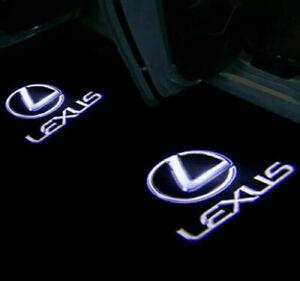 2 x LED Logo Door Courtesy Light Shadow Laser Projector for Lexus ES LS LX RX GX