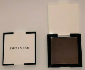 Compact Vintage Estee Lauder Square Ribbed compact
