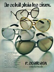 Realistic K Publicité Advertising 1971 Les Lunettes R Sontonax Orders Are Welcome. Other Breweriana Collectibles