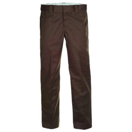 873 Hose Chino DICKIES Slim Straight Work Pant chocolate brown