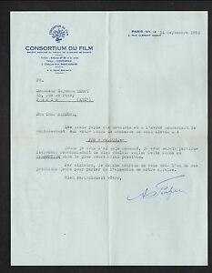 """PARIS (VIII°) LOCATION de BANDE DE FILM pour CINEMA """"CONSORTIUM DU FILM"""" 1953 A4 - France - État : Occasion : Objet ayant été utilisé. Consulter la description du vendeur pour avoir plus de détails sur les éventuelles imperfections. Commentaires du vendeur : """"CORRECT"""" - France"""
