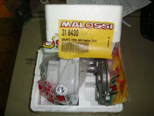 318430 UNIT HEATED MALOSSI D.47 MHR MALAGUTI F12 ALL