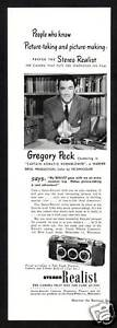 1950s-Original-Vintage-Stereo-Realist-Camera-Gregory-Peck-Photo-Print-Ad