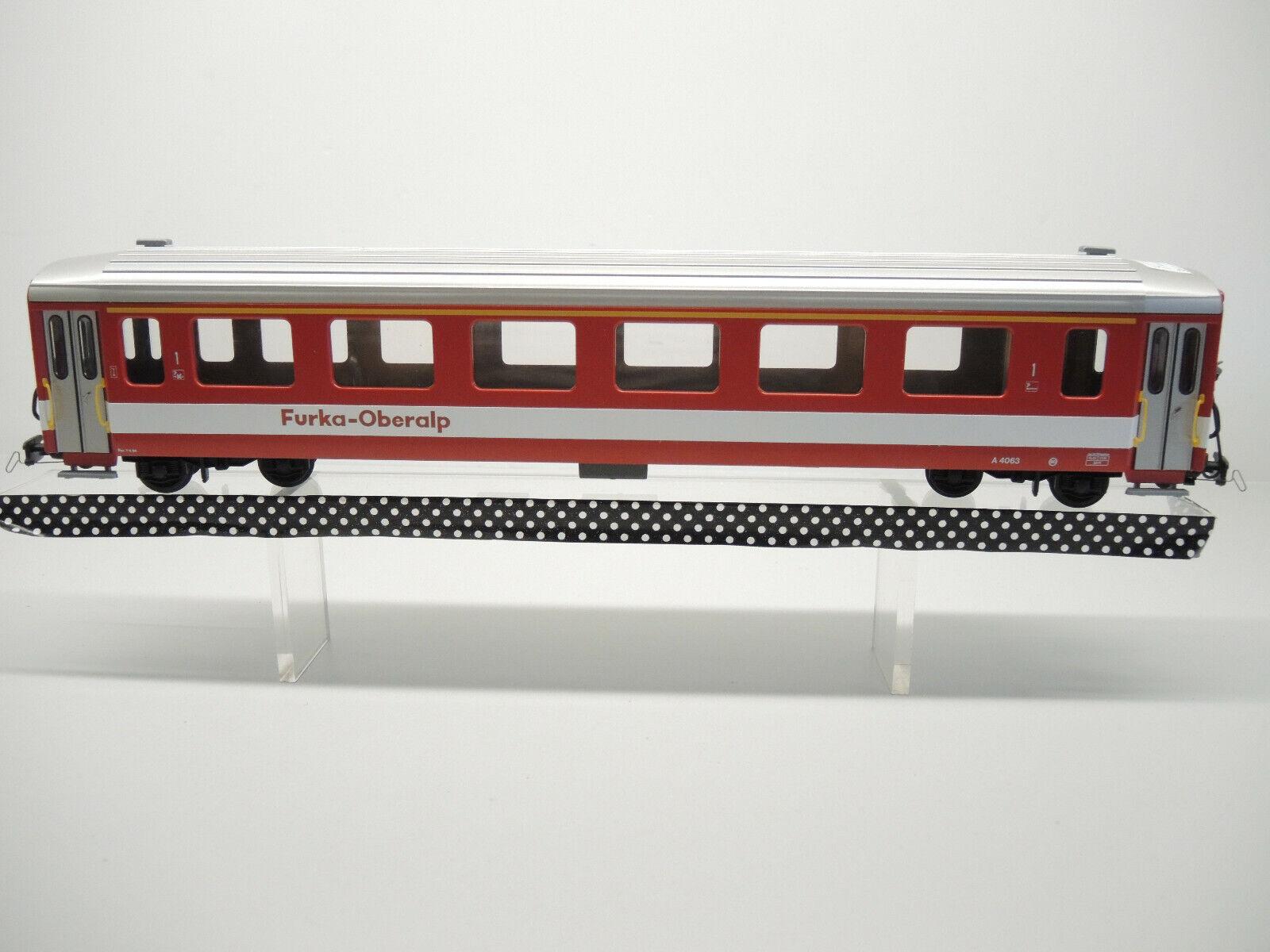 Fama 3110, passenger car the Furka Oberalp, a 4063, 1.Kl. please text read (B)