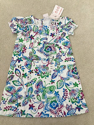 Hanna Andersson Nwt Girls Butterfly Floral Spring Summer