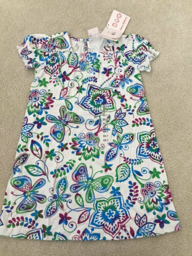 4T//5-6//6X-7 HANNA ANDERSSON~NWT GIRLS BUTTERFLY//FLORAL SPRING//SUMMER DRESS~sz