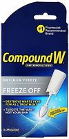 Compound W Freeze Off Wart Removal System 8 Applications