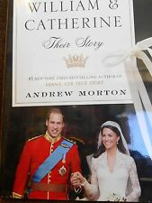 William & Catherine: Their Story by Andrew Morton new hardcover book Charlotte