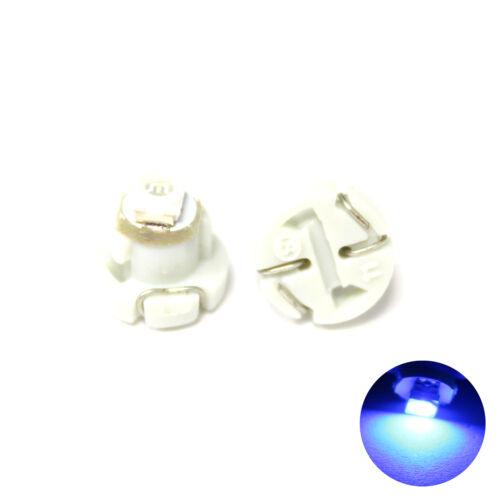2x Blue 1-SMD LED 12v Dashboard Interior Light Bulbs T3