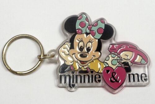 DISNEY Schlüsselanhänger MINNIE /& ME von BRABO unbespielte Neuware aus den 90ern