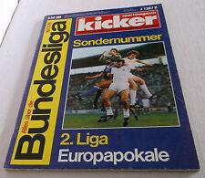 kicker Sportmagazin Sonderheft 1977/1978, Fußball-Bundesliga-Saison 77/78