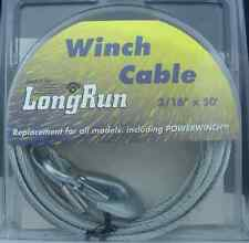 Tie Down 59395 7/32-Inch X 25-Feet Winch Cable Towing Products ...