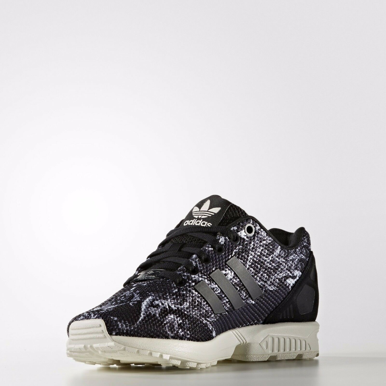 ADIDAS ORIGINALS ZX FLUX FARM RIO WOMEN'S RUNNING RUNNING RUNNING SHOES SIZE US 7.5 BLACK S76592 295415