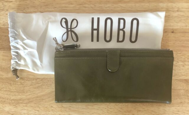 Nwt Women/'s Hobo International Leather Coin Purse Wallet Black Minnie