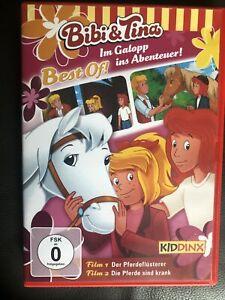 bibi und tina dvd 2 filme der pferdeflüsterer und die pferde sind krank   ebay