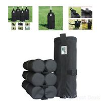 Tent Send Weight Bags Canopy Outdoor Camping Shelter 4 Piece Instant Leg Weights