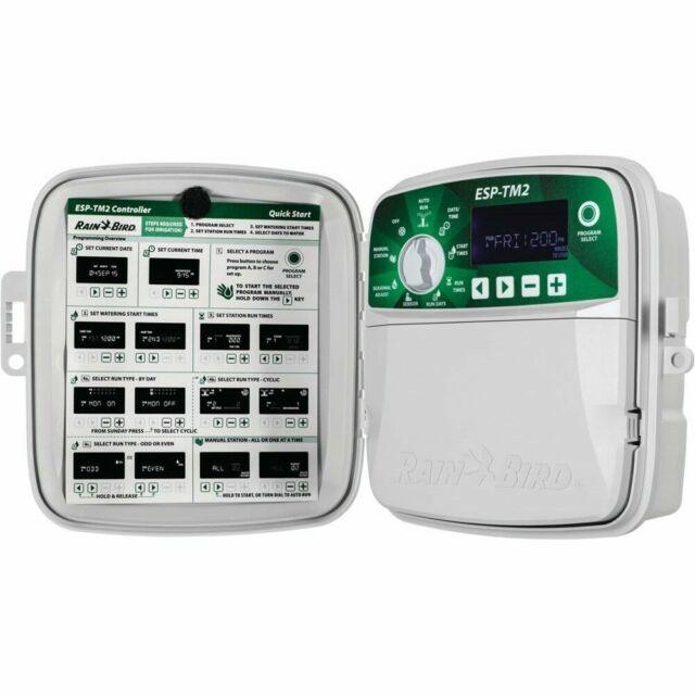 // 8 Zones RainBird TM2-8 WiFi Module Not Included Rain Bird ESP-TM2 Irrigation Controller