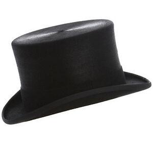 4 59 7 nera Christys a pelliccia taglia in 1 Cappello lucida cm cilindro 8nqwPvx84X