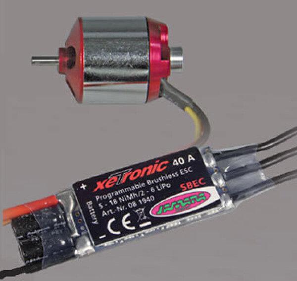 Jamara brushles vuelo regulador 5 v2 xetronic Magnum 40 a 132820 0819 40